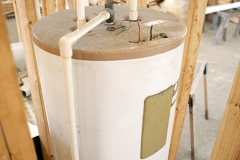 Water Heater Installed
